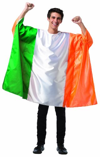 Rasta Imposta Men's Flag Tunic- Ireland, Multi, One Size -