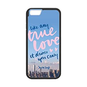 the Case Shop- Taylor Swift Quotes Singer TPU Rubber Hard Back Case Silicone Cover Skin for iPhone 6 4.7 Inch , i6xq-466