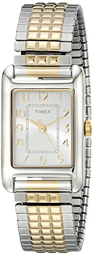 Timex Women's Emma | Silver/Gold | Casual Watch T2P305 ()