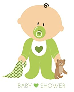 833c7786b Baby Shower  Baby in Green