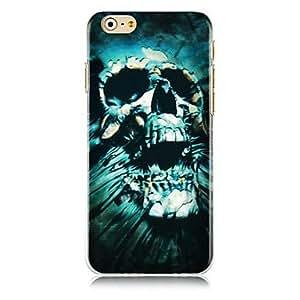 DD Rag Skulls Pattern Hard Back Case for iPhone 6 Plus