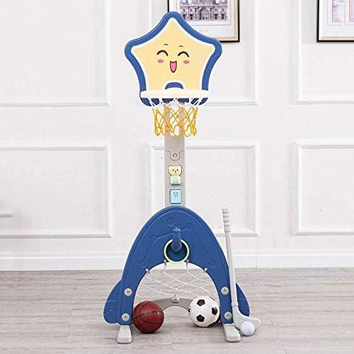 キッズバスケットボールスタンドキッズバスケットボールフープスタンドセット調整可能な高さのボールネットプレイスポーツゲーム幼児用男の子女の子子供屋内アウトドアおもちゃ幼児用キッズ男の子&女の子
