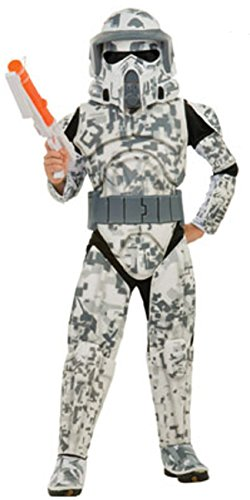 Real Star Wars Clone Trooper Costumes - Rubies Star Wars Clone Wars Child's