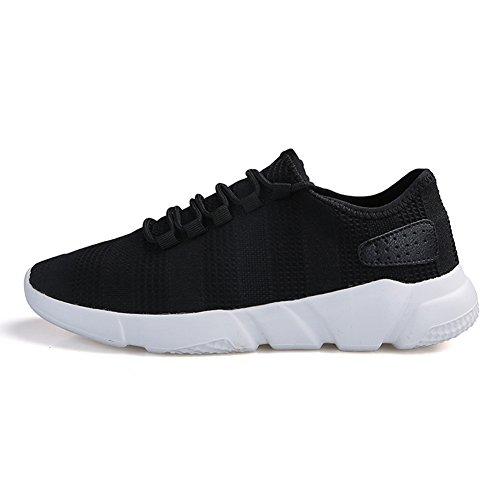 Scarpe Fitness Interior Tennis Nero Running Ginnastica Madaleno Corsa sportive da Casual Sneakers Basse uomo aUqwZqd