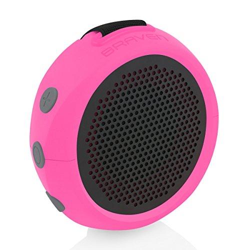 Braven 105 Wireless Portable Bluetooth Speaker  - RASPBERRY