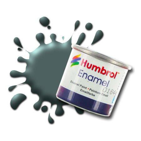 Humbrol Model Enamel Paint No.075 Matt Bronze Green, AA0833