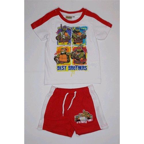 Completo de verano corto camiseta + Short Tortugas Ninja 3/8 ...