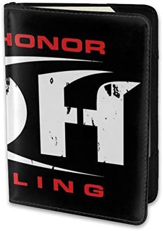 PING OF HONOR ROH WRESTLING パスポートケース メンズ 男女兼用 パスポートカバー パスポート用カバー パスポートバッグ 小型 携帯便利 シンプル ポーチ 5.5インチ高級PUレザー 家族 国内海外旅行用品