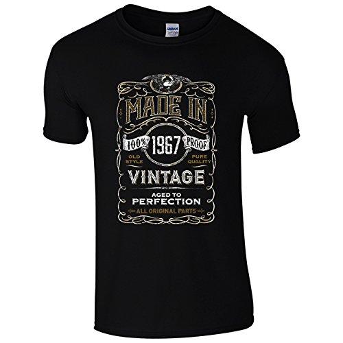 UKPrintwear Herren T-Shirt Gr. L, schwarz
