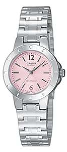 Casio LTP-1177A-4A1EF - Reloj analógico de cuarzo para mujer, correa de acero inoxidable multicolor
