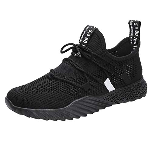 SUNyongsh Men's Fashionable Shoes Casual Breathable Mesh Athletic Walking Running Shoes Sneakers ()