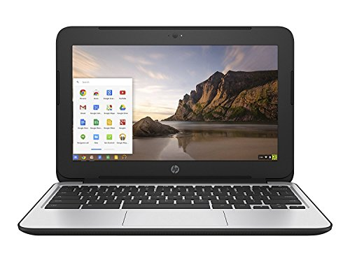 2017 HP Chromebook 11.6 inch Premium Flagship Laptop, Intel Celeron Core N2840 up to 2.58GHz, 4GB RAM, 16GB Flash SSD, 802.11ac WiFi, Bluetooth, Webcam, USB 3.0, Chrome OS (Certified Refurbished)