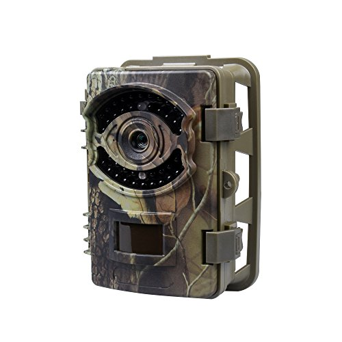 Trail Cameras, 16MP 1080P Wildlife Scouting Game Camera 0.7 s Trigger Speed, 2.4