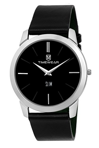 TIMEWEAR Analogue Black Dial Men's Watch