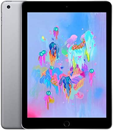 Apple iPad sixth Generation, 32GB, Wifi Only - Space Gray (Renewed)