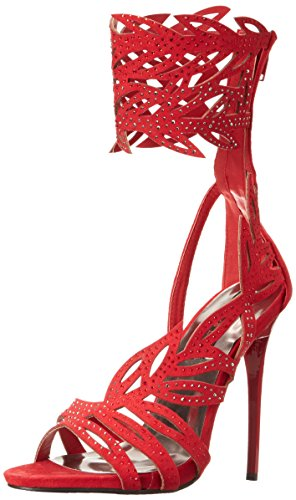 2 Too Glamor Lips Gladiator Red Too Women Sandal FwFSB5nq1x