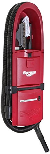 GarageVac GH120-R Red Wall Mounted Garage Vacuum with Accessory
