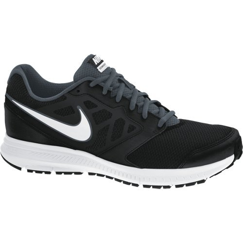 Nike Downshifter 6, Chaussures de Course Homme, Gris/Blanco/Black (Stealth/White-Black-Black), 48 1/2