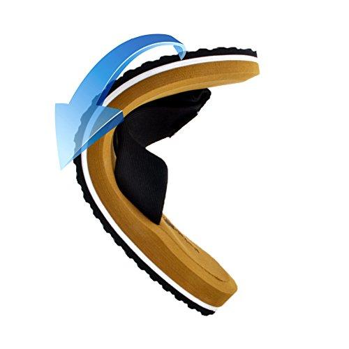 Pantofole Da Uomo Infradito Da Uomo - 2018 Primi Sandali Da Uomo Con Infradito Per Uomo Infradito Mens Pantofole Per Bambini Scivolano Sul Bagno Grande Supporto, Heavy Duty Marrone