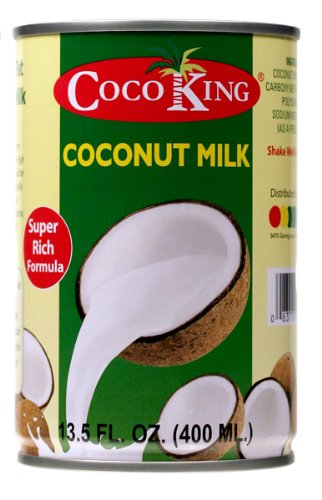 CocoKing 20% Coconut Milk, 13.5 Ounce (Pack of 24) by Cocoking