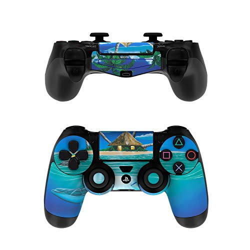 Ocean Serenity Decalgirl Skin Sticker Wrap Compatible with Sony PS4 Controller (Controller NOT Included)