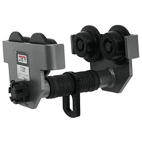 JET Lifting Systems 1-PT, 1 Ton, Heavy Duty Manual Trolley (252010), 20-Feet