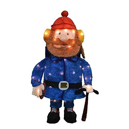 (Holiday Home Lighted Rudolph Movie Tinsel Yukon Cornelius Sculpture Outdoor Christmas Decoration)