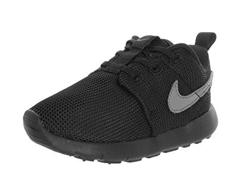 Nike Roshe One (Tdv), Zapatos de Primeros Pasos para Bebés Negro / Gris (Black / Cool Grey)