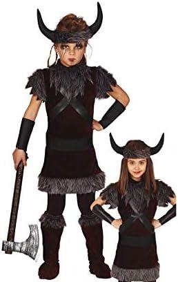 Guirca Disfraz de Vikingo para niños: Amazon.es: Juguetes y juegos