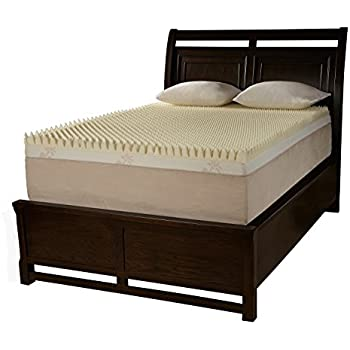 Amazon Com Bed Mattress Memory Foam Topper 4 Inch King