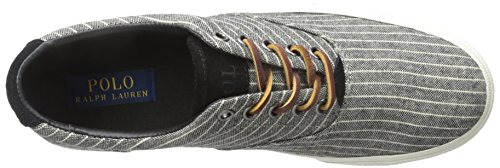 Polo Ralph Lauren Manar Vaughn Suiting-rand Mode Sneaker Svart