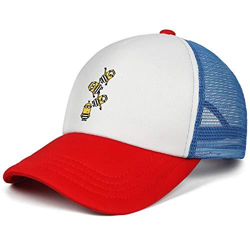UKNnings Kids†Uv Protection Style Strapback Mesh Baseball Cap
