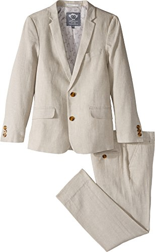 Appaman Kids Baby Boy's Two-Piece Mod Suit (Toddler/Little Kids/Big Kids) Fog Suit by Appaman Kids