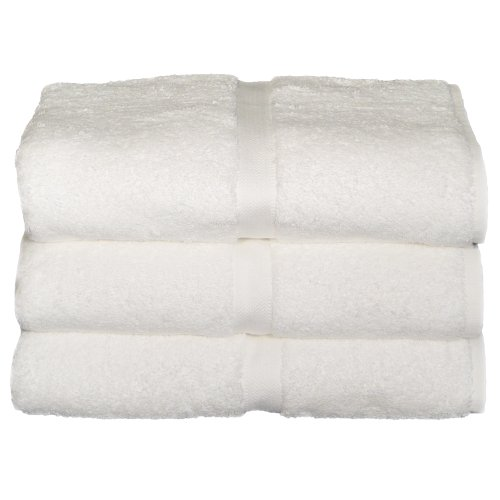 Baltic Linen Chelsea  100% Turkish Cotton Hotel Bath Towels  27 x 54-inch White 3 - Collection Linen Hotel