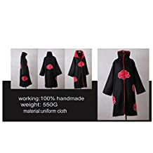 NARUTO: Akatsuki - Cosplay Costume [Mantle] (L)