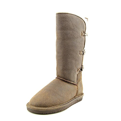 BEARPAW Women's Lauren Boot (7 B(M) US, Chestnut Distressed) by Bearpaw
