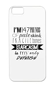 White Sarcasm Teen Wolf Jokes Sarcasm Funny Stiles Stilinski Funny Shockproof TPU For Iphone 5c Case Cover