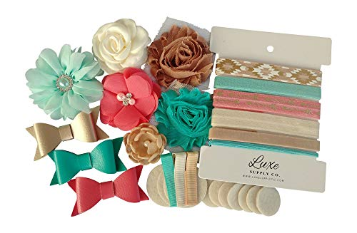Southwest DIY Headband Kit - Mint, Coral, Natural