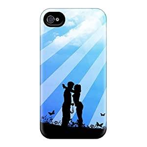JoyRoom INUEY2124ylYcx Protective Case For Iphone 4/4s(moonlit Couple)