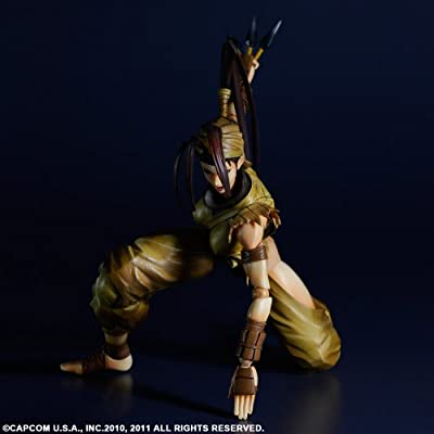 Square Enix Super Street Fighter IV Ibuki Play Arts Kai Action Figure: Toys & Games