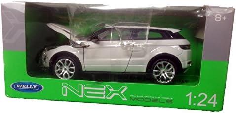 Welly Range Rover Evoque mod/èle Auto Auto License Product 1 34-1 39 Silver