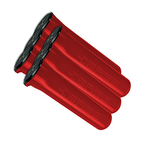 BASE PM 150 Round Paintball Pods - Red - 6 - Pods Paintball