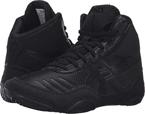 ASICS JB Elite V2.0 GS Skate Shoe, Black/Onyx, 3 M US Little Kid