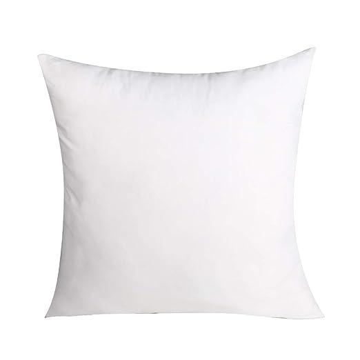 Pack de 1 Premium poliéster relleno almohada insertar ...