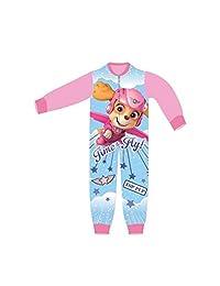TDP Girls Childrens Paw Patrol Pyjama All in One Sleepwear Character