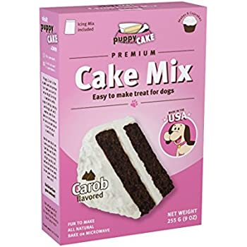 Puppy Cake Carob Cake Mix and Frosting for Dogs