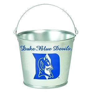 NCAA Duke Blue Devils 5-Quart Galvanized Pail