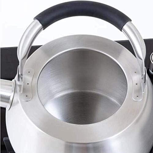 HLJ Fornuis Fluitketel, Inductie Whistling Fornuis Fluitketel 4,5 liter grote capaciteit Kettle Food Grade 305 roestvrij staal Whistling K (Size : 3.5L)