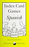 img - for Index Card Games for Spanish book / textbook / text book