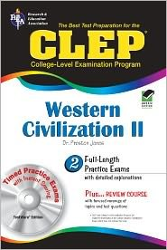 CLEP Western Civilization II w/CD-ROM (REA) Publisher: Research & Education Association